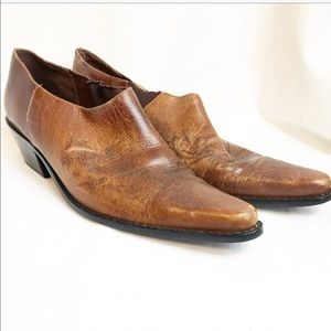 Matisse low / ankle brown boots